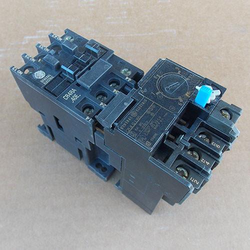 GE CR4RA 40E 3 Pole 20 Amp 600V 120V Coil Magnetic Starter - Used