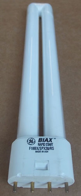 GE F18BX-SPX30-RS Biax Single Tube 4 Pin Base Compact Fluorescent Light Bulb - New