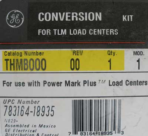 GE THMB000 Conversion Kit for Power Mark+ Load Centers - New
