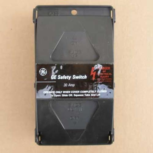 GE TPF230 30 Amp 2 Pole 240V Plug Fuse Type Safety Switch Nema 1 - New