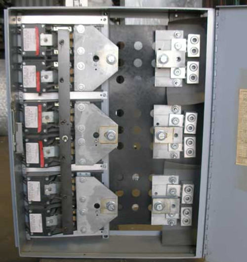 General Electric THFP367 800 Amp 3 Pole 600V Fused Panel Switch - Used
