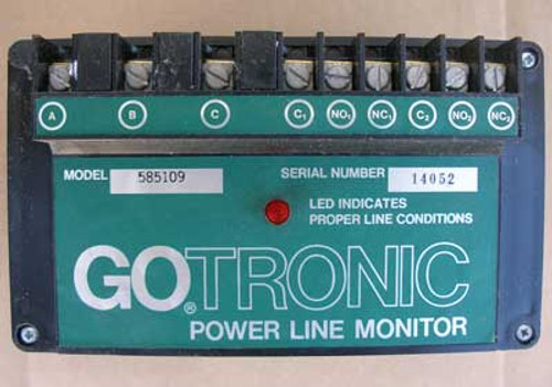GOTRONIC #585109 Power Line Monitor 480V - New