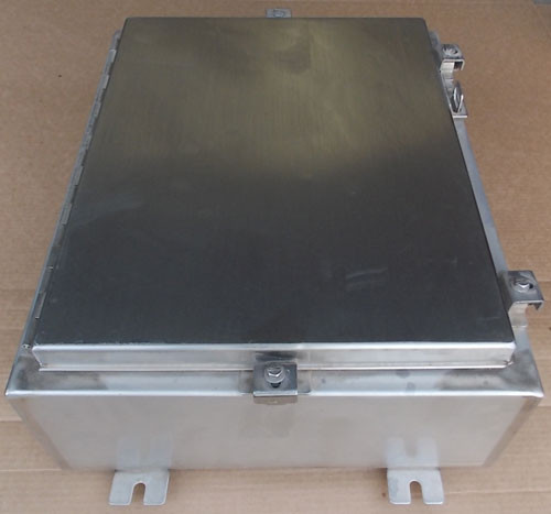 "Hoffman 16""x20""x6"" Type 4x Stainless Steel Control Panel Enclosure - New"