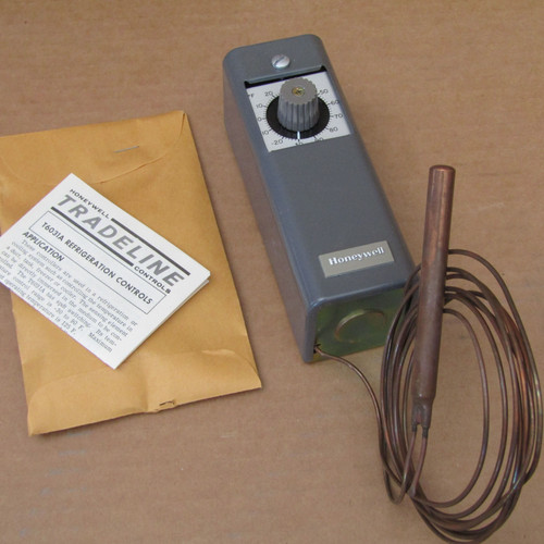 Honeywell T6031A 1029 Refrigeration Temperature Controller 16A (1HP) SPDT Switch - New
