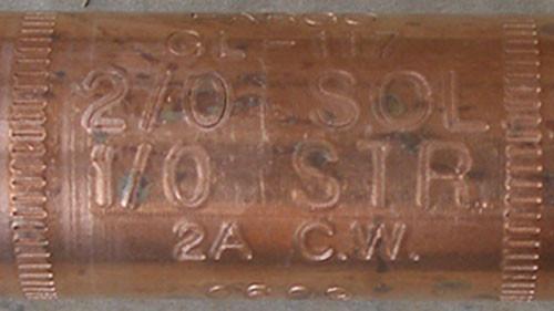Hubbell GL117 Copper Automatic Splice Tension 2/0SOL 1/0STR 2A CW - New