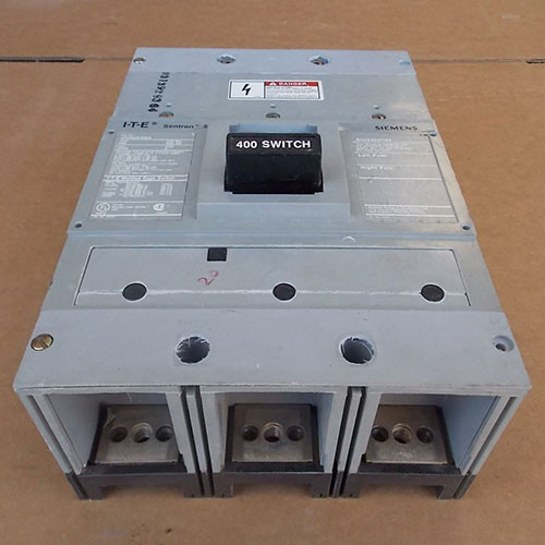 ITE Siemens JXD63S400A Sentron 3P 400A 600V  Molded Case Switch - Used