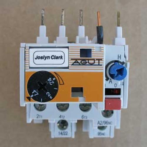 Joslyn Clark MT03I Auxiliary Contactor 1.7-2.4 Amp