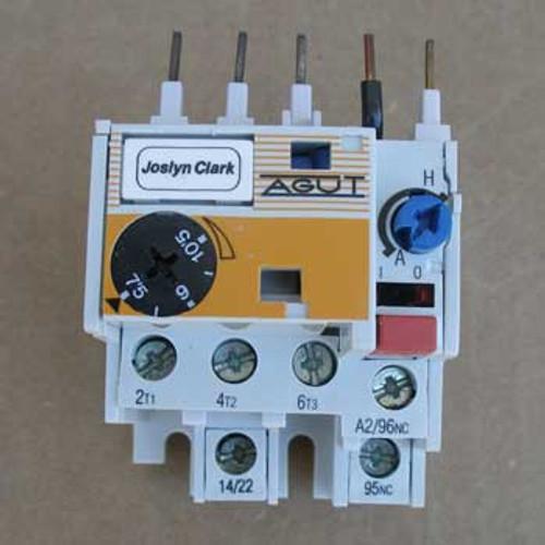 Joslyn Clark MT03N Auxiliary Contactor 7.5-10.5 Amp
