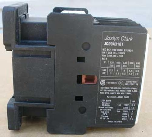 Joslyn Clark Open Type Contactor Starter JC09A310TJ - New
