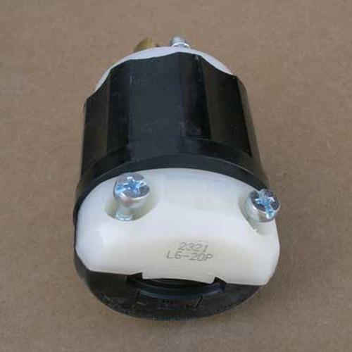 Leviton 2321 Locking Plug 20 Amp 250V 2 Pole 3 Wire (Lot of 2)