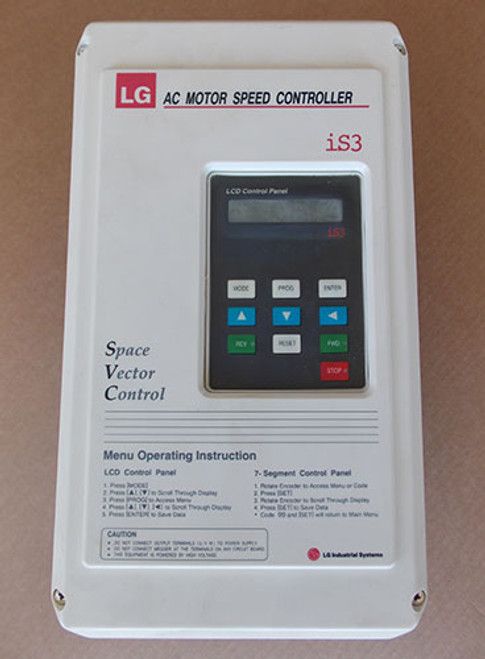 LG Industrial Systems SV-015-iS3-4 3PH AC Motor Speed Controller - New