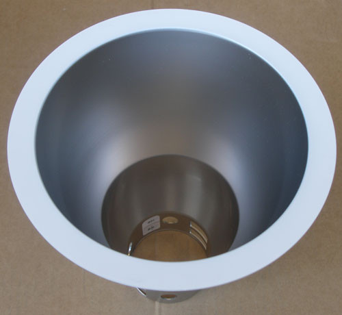 "Lightolier 8021CPWW 6"" Downlight Recessed Track Lighting with White Trim"