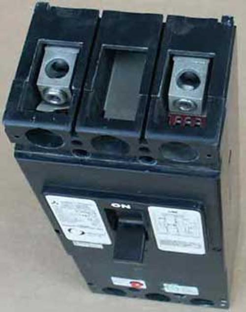 Mitsubishi H8609 225A Type W-NV225-TA Circuit Breaker - Used