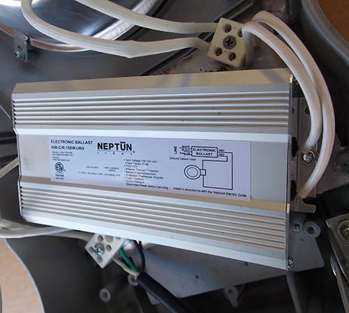 Neptun 282150-UNV-LD-GRY 150W 120-277V Induction Cobra Head Lighting Fixture - New
