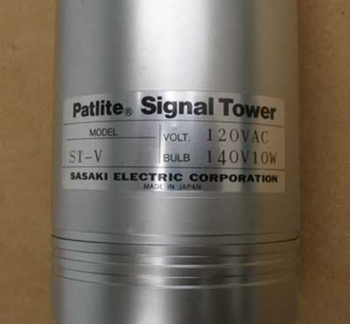 Patlite Signal Tower ST-212V Red Amber 120 VAC - New