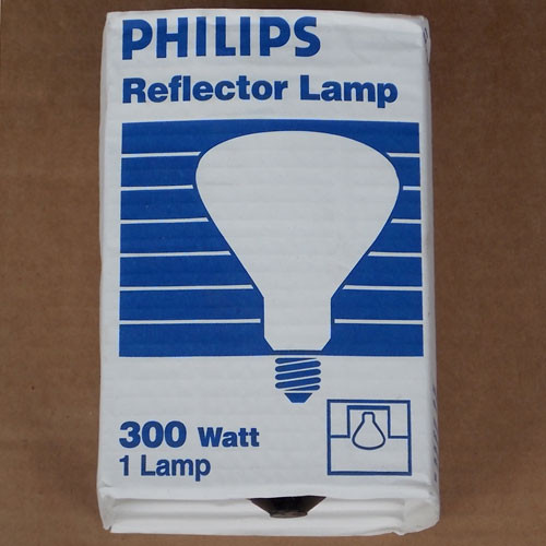 Philips 300R/3FL R40 Reflector Lamp 300W 250V Mogul Base