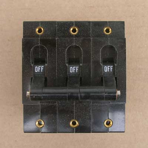 Potter & Brumfield W93X11-10-5 Magnetic Circuit Breaker 3P 5A 277V