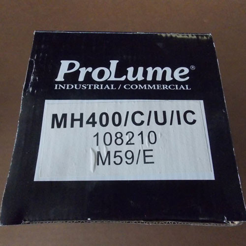 ProLume MH400/C/U/IC 108210 400 Watt Metal Halide Bulb - New