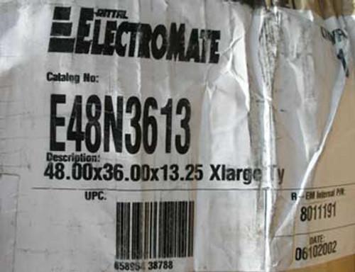 Rittal E48N3613 Electromate 48x36x13.25 XLarge Nema 1 Enclosure - New