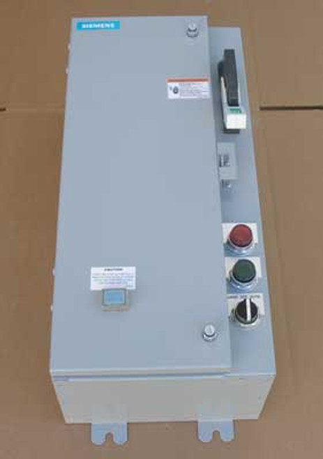 Siemens 17CSD92NF1151 Size 0 Fusible Combination Starter 3PH 5HP N12/4 - Used