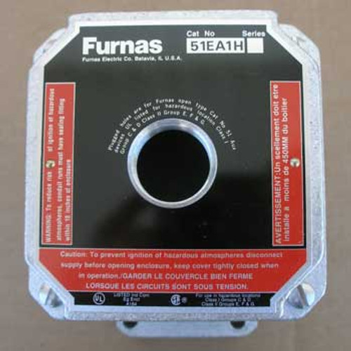 Siemens Furnas 51EA1HX311 Push Button Enclosure NEMA 7&9 1 Hole - New