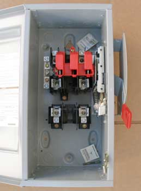 Siemens GF222N 60A 240V 2P General Duty Fusible Safety Switch N1