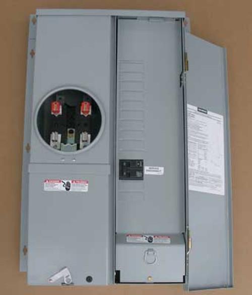 Siemens MC1224B1100FEC Rainproof Combo Meter 100A 240V 1PH Nema 3R - New