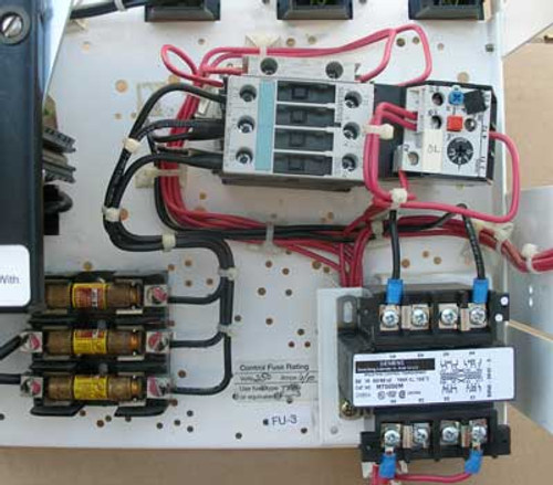 Siemens MCS603L MOD 95 MCC Bucket w/ 3RH1921 Starter - Used