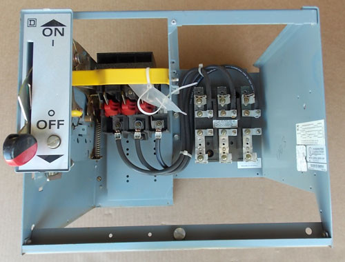 "Sq D Mod 5 Motor Control Center Feeder Bucket 30A 480V 3P 12""(H) - Used"