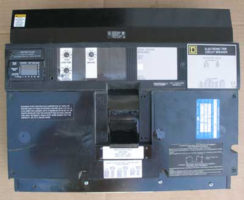 Sq D NE361000LI 3P 1200A Sensor 600V Micrologic Circuit Breaker - Used
