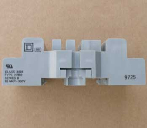 Square D 8501 NR82 15 Amp 300V Front Wired Relay Socket