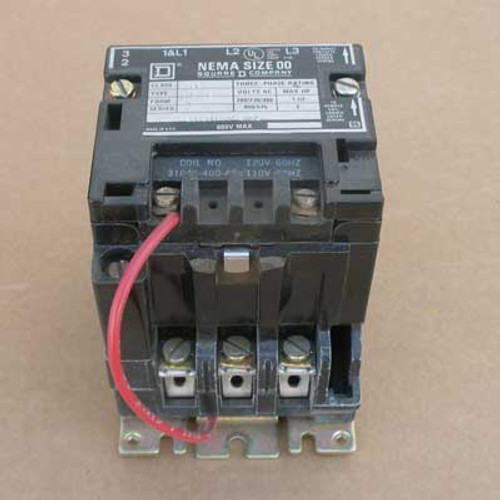 Square D 8502 SG02 Size 5 Contactor 3PH 600VAC 200HP