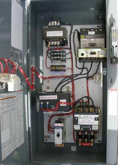 Square D 8539 SDG3V8 Sz 2 Combo Motor Starter 3 PH 40A 575V Nema 1 - New