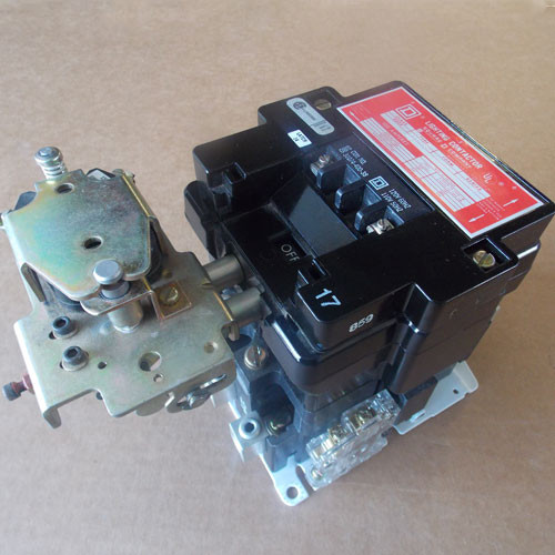 Square D 8903 S0011 Magnetic Contactor 100 Amp 3 Pole 120 Volt Coil - Used