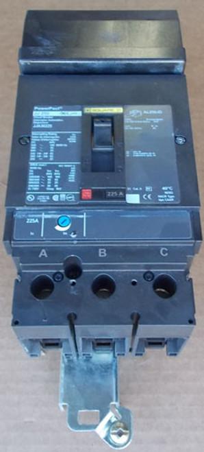 Square D JJA36250 3 Pole, 250 Amp, 600 VAC Circuit Breaker - NPO