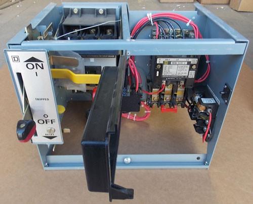 Square D L-324 Model 5 Size 1 MCC Bucket 480V 3Ph 24V Coil - Used