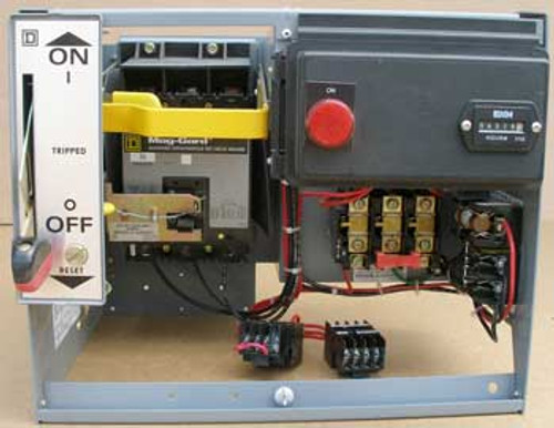 Square D Model 5 Size 1 Nema 3 Amp 600 Volts Motor Control Bucket - Used