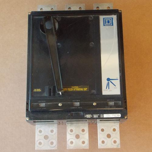 Square D PAL361600 3 Pole 1600 Amp 600VAC MC Circuit Breaker - Used