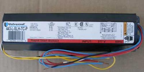 Universal 443-L-SLH-TC-P0001 Magnetic Ballast 277VAC 60 Hz - New