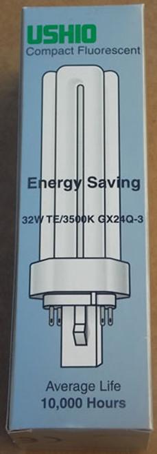 Ushio UFL-CF32TE/835 32W Triple Tube Compact Fluorescent - Lot of 2 - New