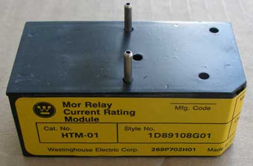 Westinghouse HTM-01 Mor Relay Current Rating Module Model B - New