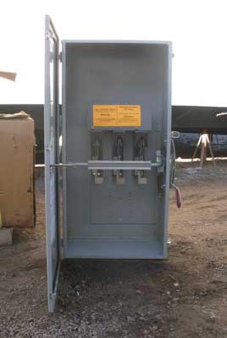 Westinghouse JHUN365 Safety Switch 400A 600V 350HP Nema 12 - New