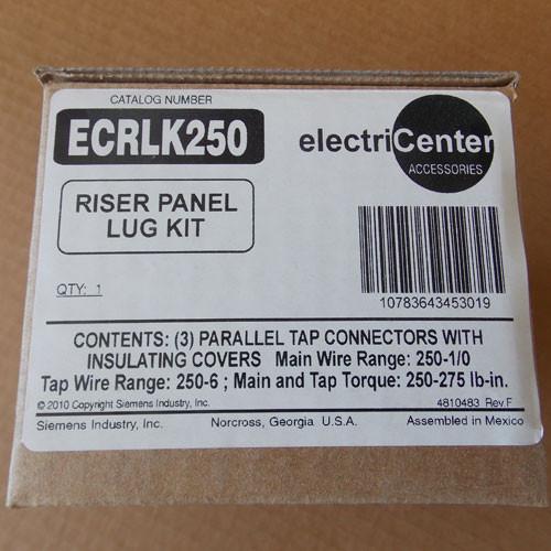 Siemens ECRLK250 Riser Panel Lug Kit - New