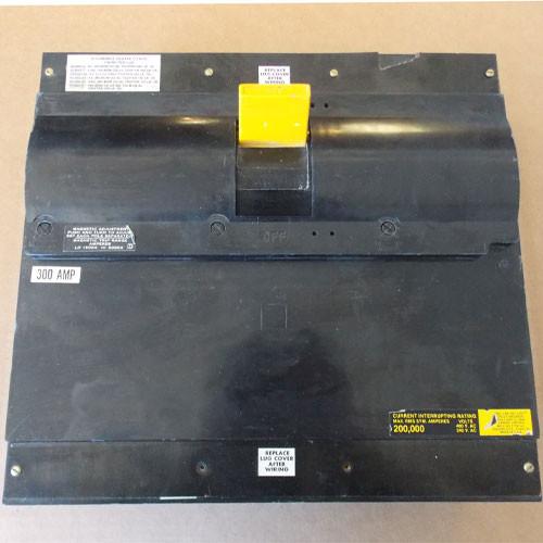 Square D ILL34300 3 Pole, 300 Amp, 480 VAC, 200K Circuit Breaker - Used