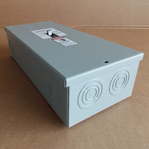 Siemens E1SED63B040 Type 1 Enclosure with ED63B040 40 Amp Circuit Breaker - New