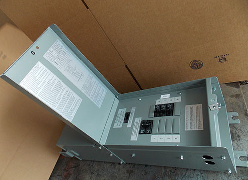 Hammond M1PC005LESF 5 KVA 1PH 480V to120/240V  PowerPlus Mini Power Center N3R - Used