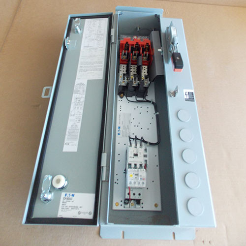 Eaton ECN1602AAC Size 0 Fusible Combination Starter 600VAC Max 18 Amp 120V Coil Nema 3R - New