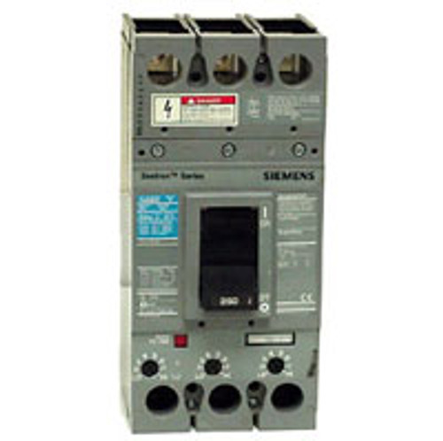 Siemens FXD63B200 3 Pole 200 Amp 600VAC MC Circuit Breaker - New Pullout