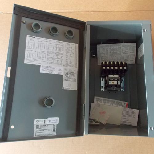 Square D 8903LH60V02 6 Pole 30 Amp 120V Lighting Contactor Nema 3R - New