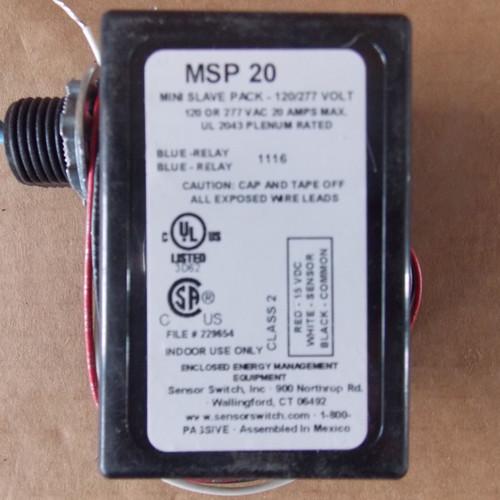 Acuity SensorSwitch MSP20 Mini Slave Pack 120/277VAC 20 Amp - New